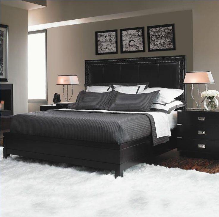black bedroom sets lexington home - ice graphite (carbon black) bedroom set MAPJGKO