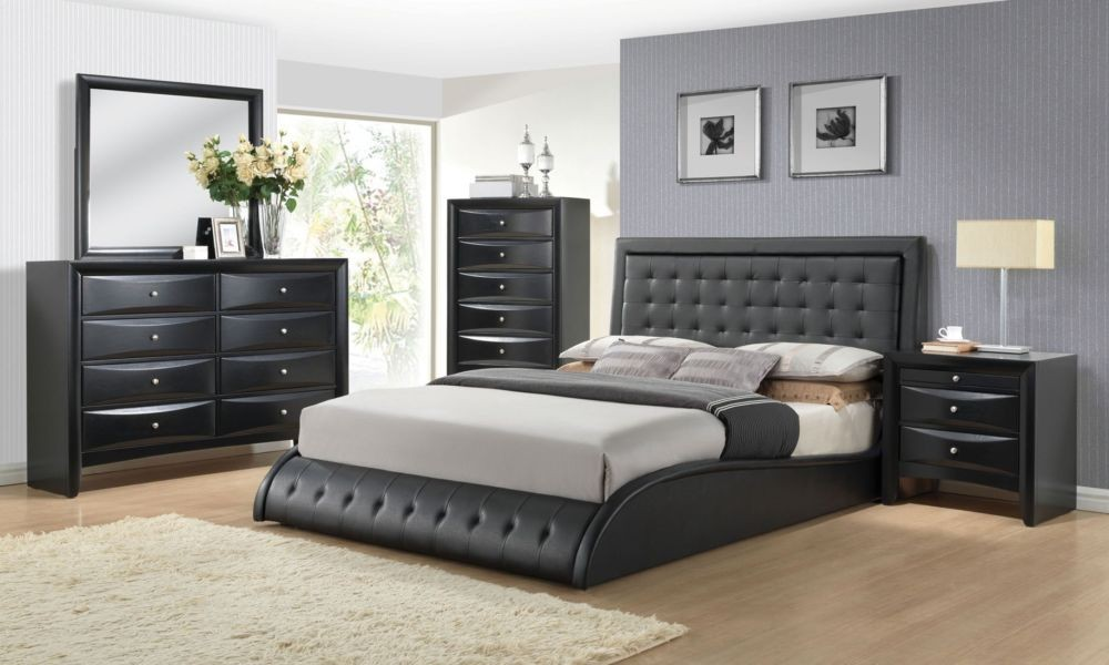 black bedroom sets neo black collection - coco furniture gallery furnishing dreams VBLOAFY
