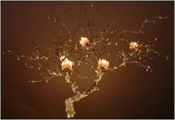 bloominglites unique lighting and custom design VXWZVQE