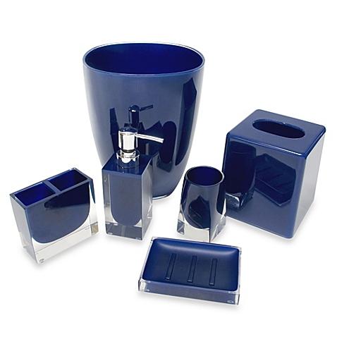 blue bathroom accessories memphis bathroom accessories in nautical blue RJYCFYI