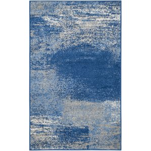 blue rug blue rugs youu0027ll love | wayfair HEYSBUY