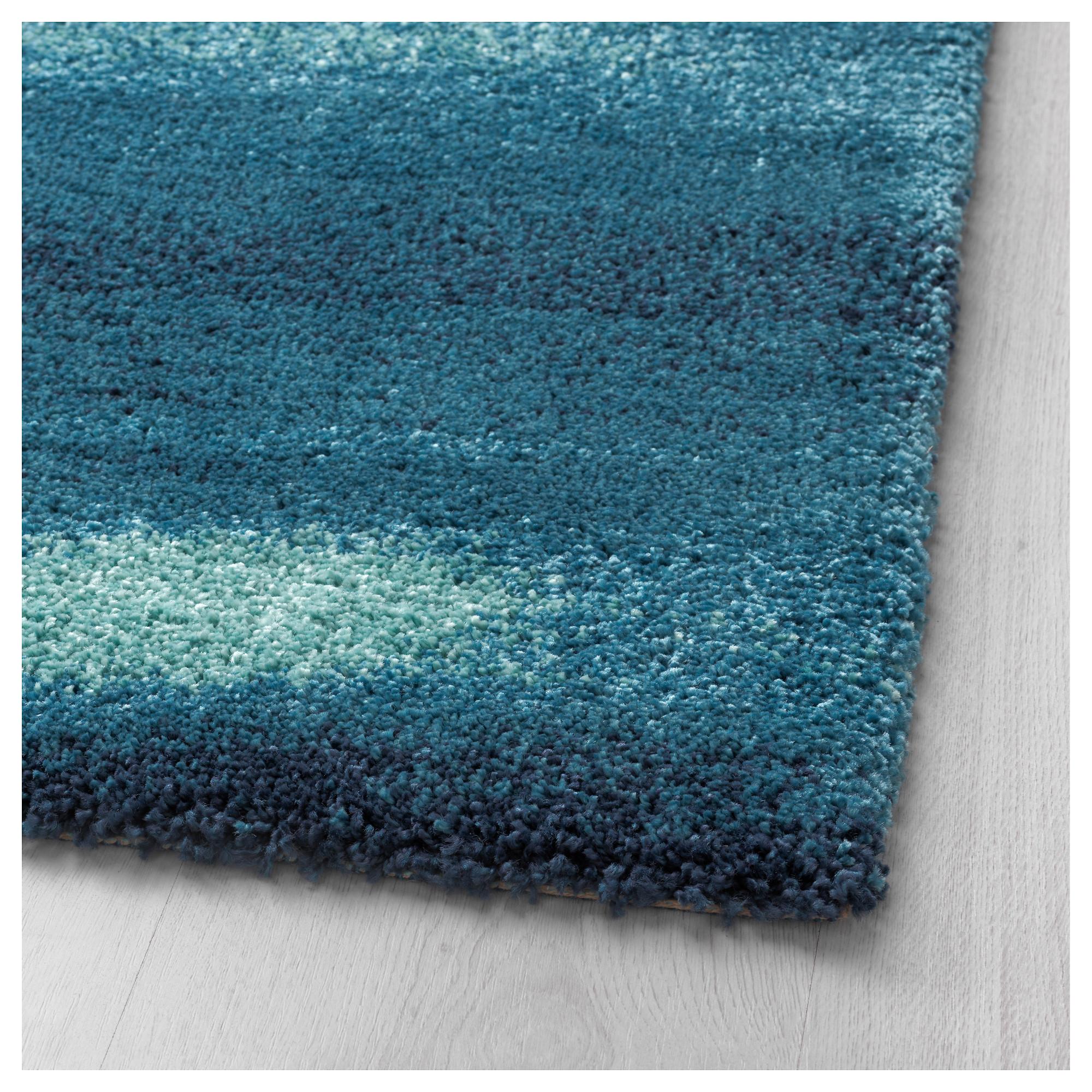 blue rug sönderöd rug, high pile - ikea WMBFAEX