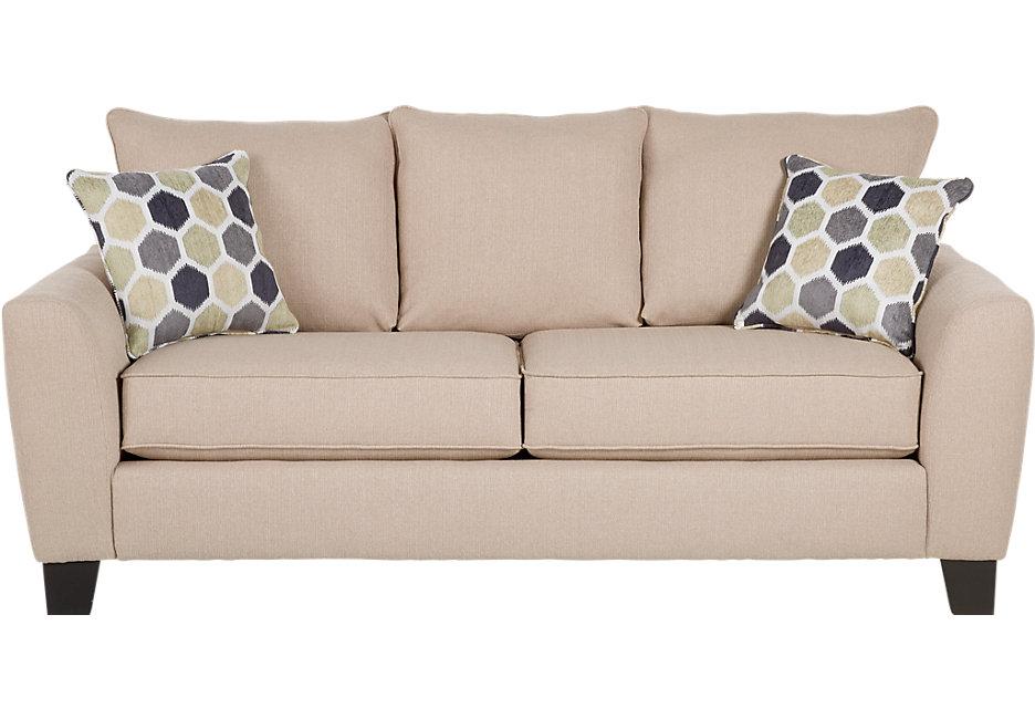 bonita springs beige sleeper sofa - sleeper sofas (beige) XDRSGKN