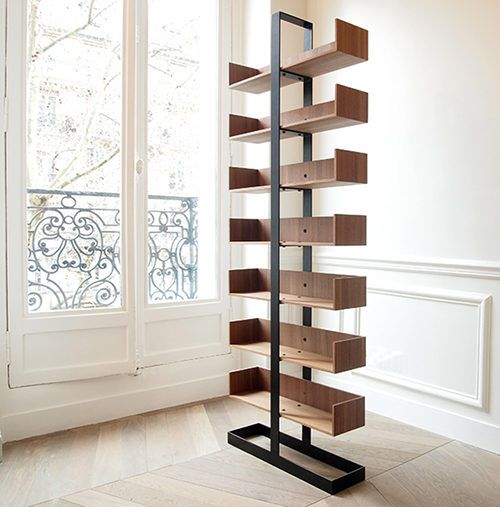 bookshelf design the severin bookshelf by alex de rouvray LIOELVA