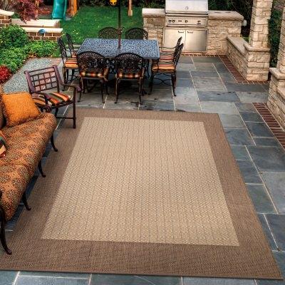border outdoor rugs ELSMISX