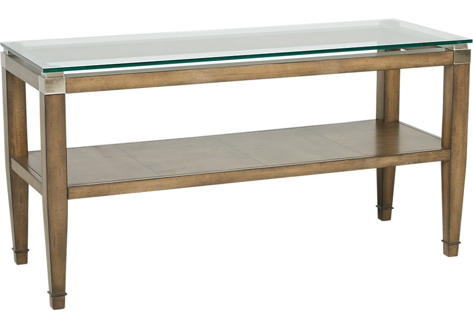braden brown sofa table IVZAUHN