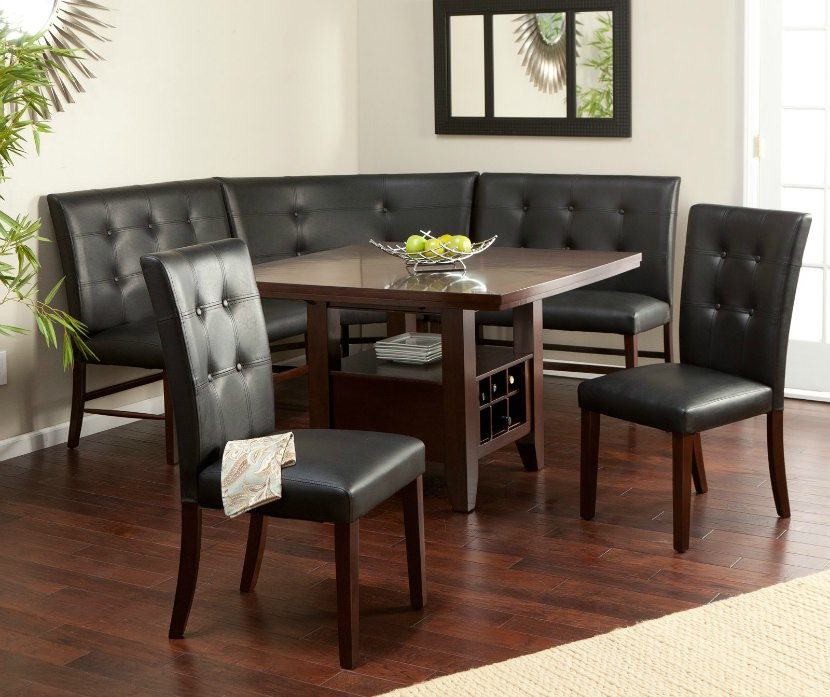 breakfast nook table elegant breakfast nook with corner bench seating FNGMPBG