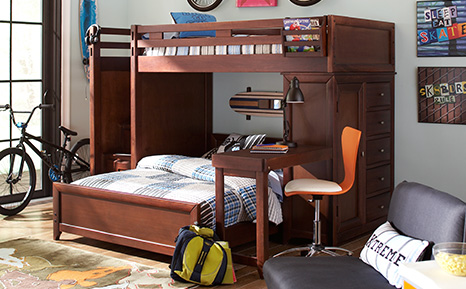 bunk beds for kids creekside · ivy league collection ECJMJQF
