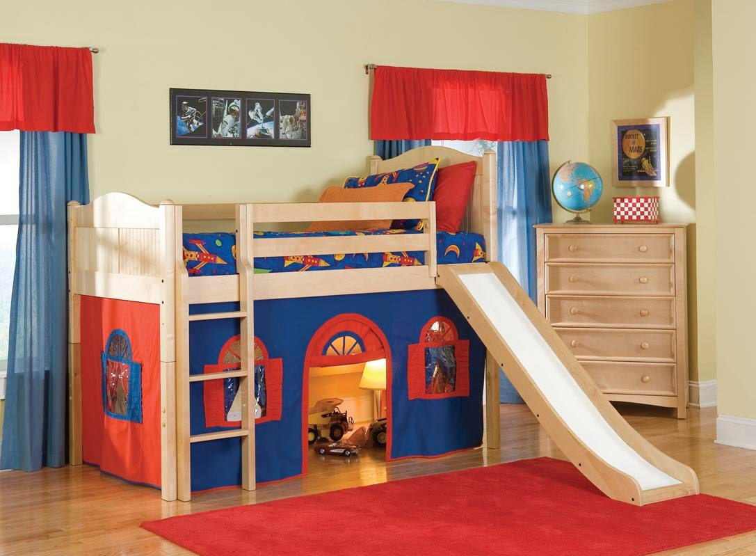 bunk beds for kids kids bunk bed i kids bunk beds with slide - youtube ORTSXSU