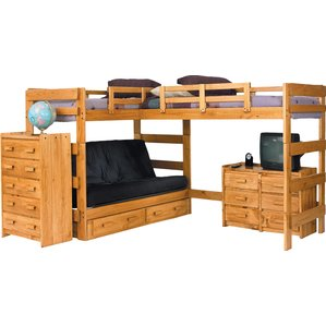bunk beds l-shaped bunk bed GIQHZKD