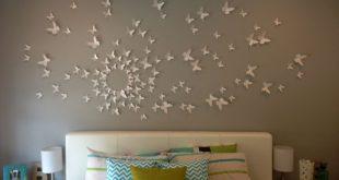 butterfly wall decor flying birds wall art gossip girl - butterfly wall art home decor circle PANAISS