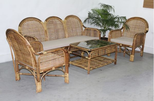 cane furniture picture of banguz cane sofa set CTZPANV