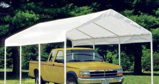 car canopy king canopy 10 x 20 ft. universal enclosed canopy carport | hayneedle OPWNKXH