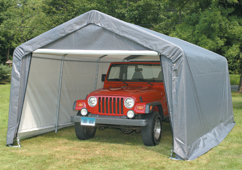 Invest in a portable garage today!
