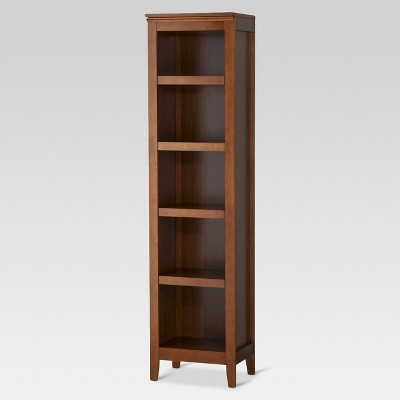 carson narrow bookcase ... PGRVUAF