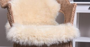 champagne sheepskin rug (2x3.5 ft) TYRHYGD