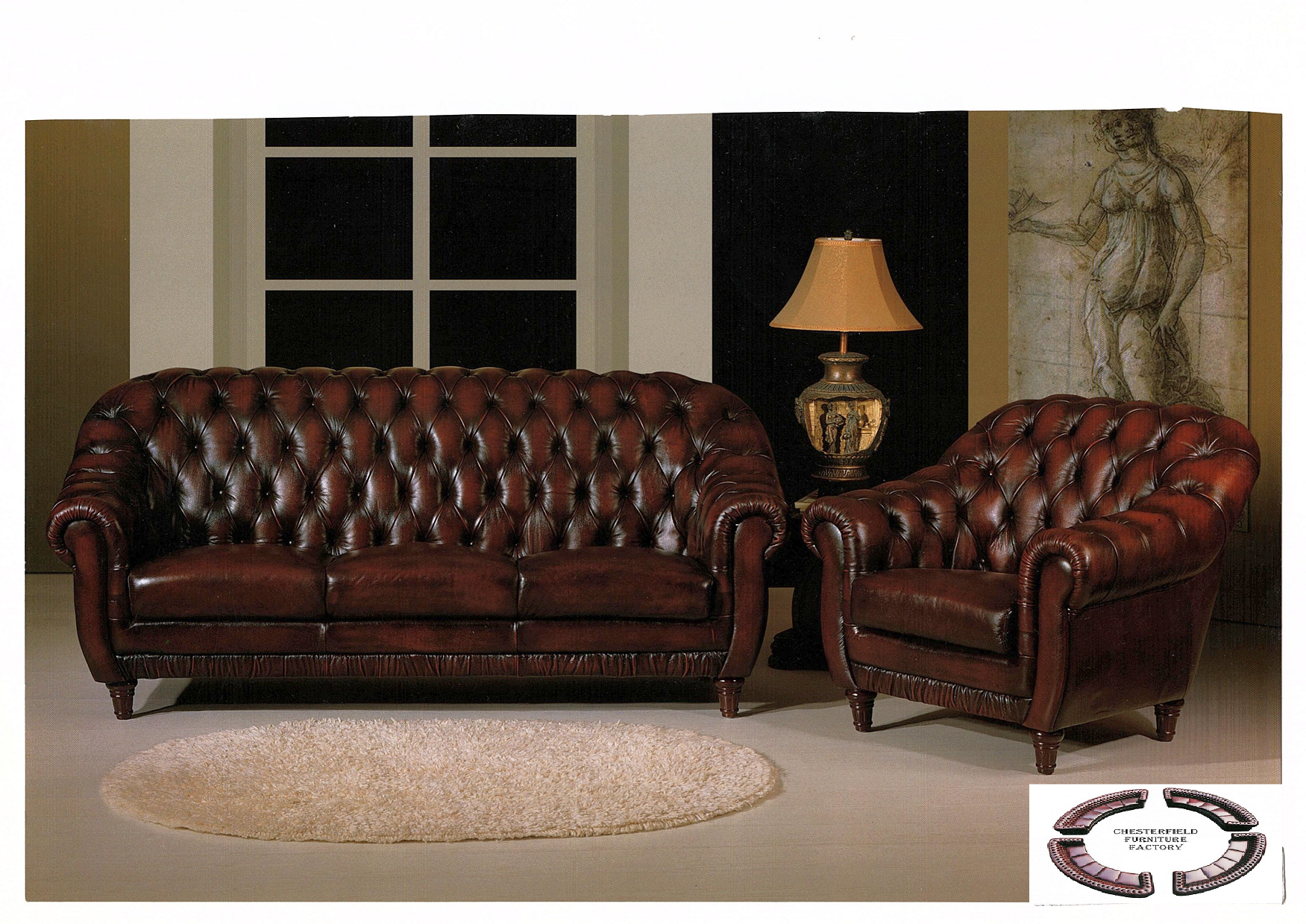 chesterfield baron - chesterfield furniture factory CUBDIRD