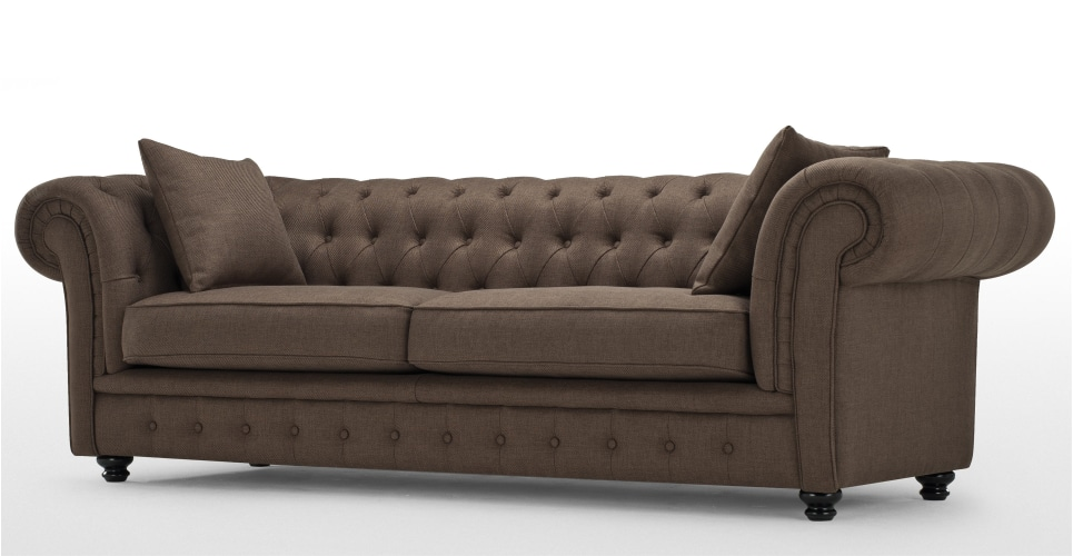 chesterfield furniture branagh. a 3 seater chesterfield sofa ... SVPOOOT