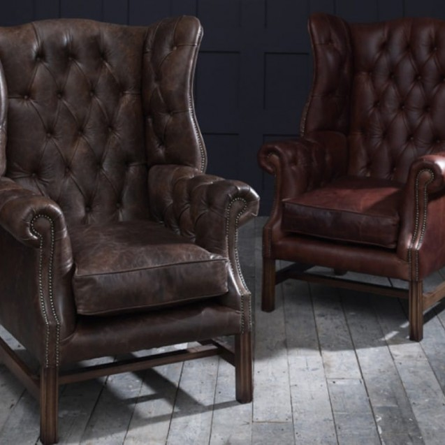 chesterfield furniture leather chairs LKAPSCW