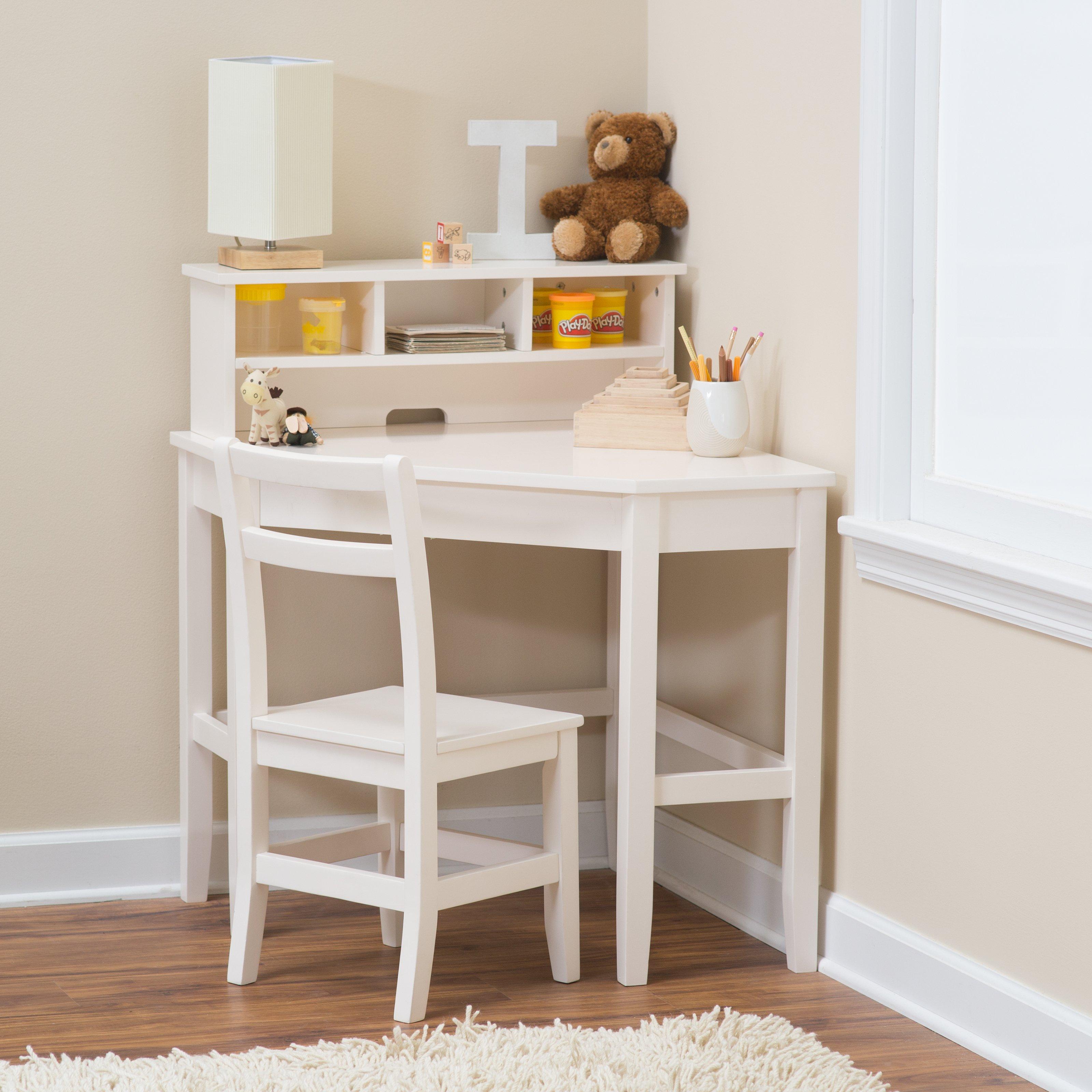 childrens desks guidecraft media desk u0026 chair set - espresso | hayneedle ZIXNYHO