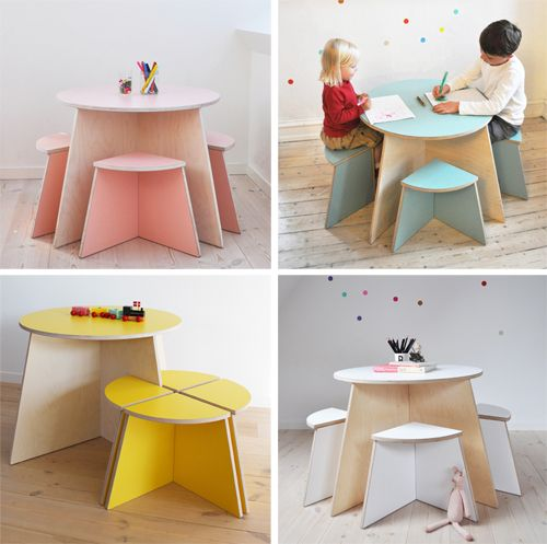childrens furniture the architecture of early childhood: small design - creating quality  interlocking furniture IOPNYLB