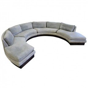 circular sofa circular curved sectional sofa by erwin-lambeth for john stuart | PVHUSAS