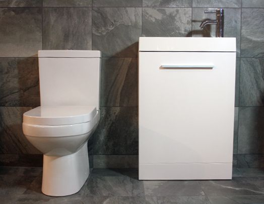 cloakroom suites designer furniture gloss white cloakroom suite 560mm IXWOTYC