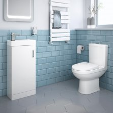 cloakroom suites | small bathroom suites and sets | soak.com VRZCUWP