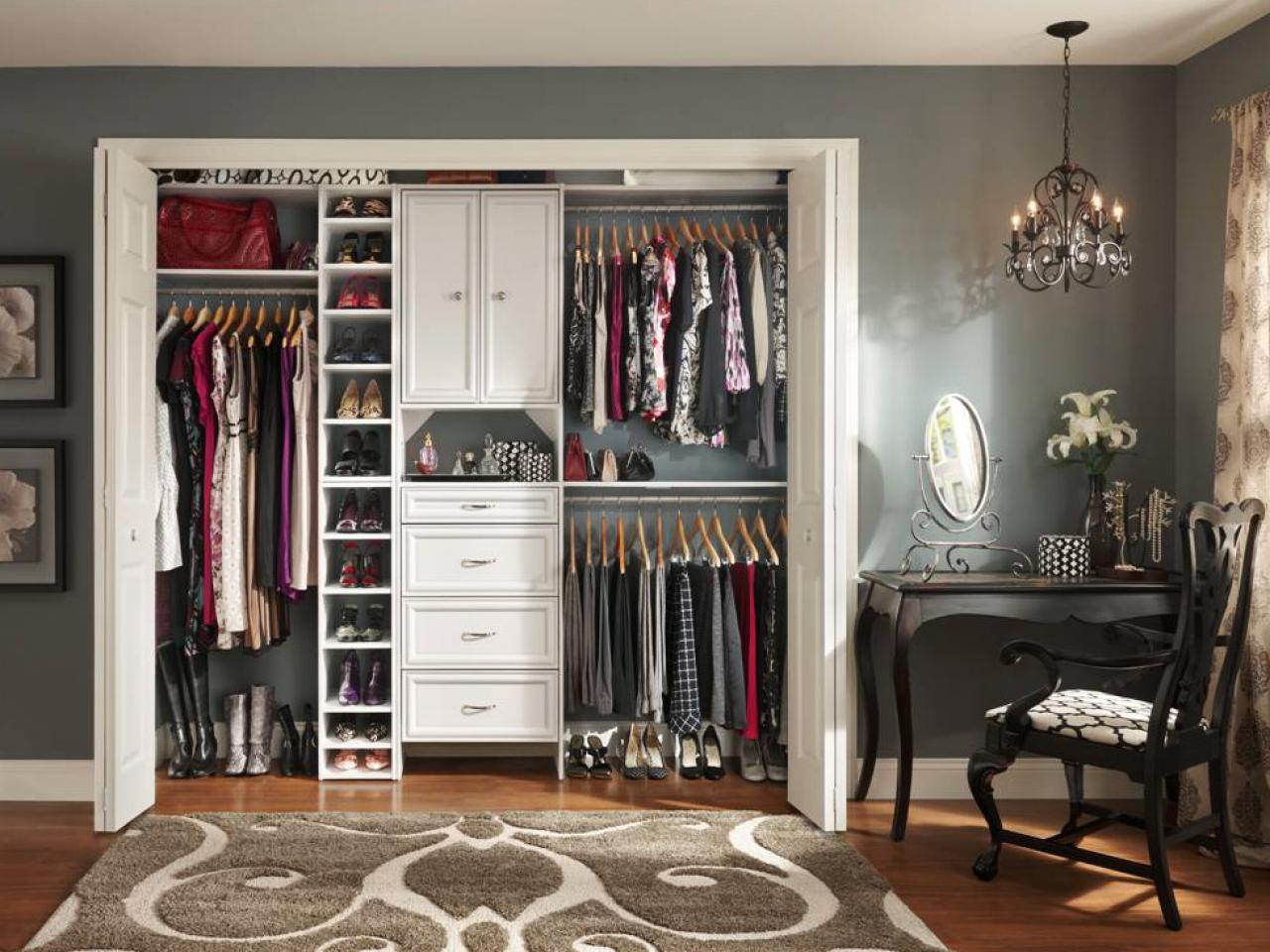 TOP THREE CLOSET IDEAS
