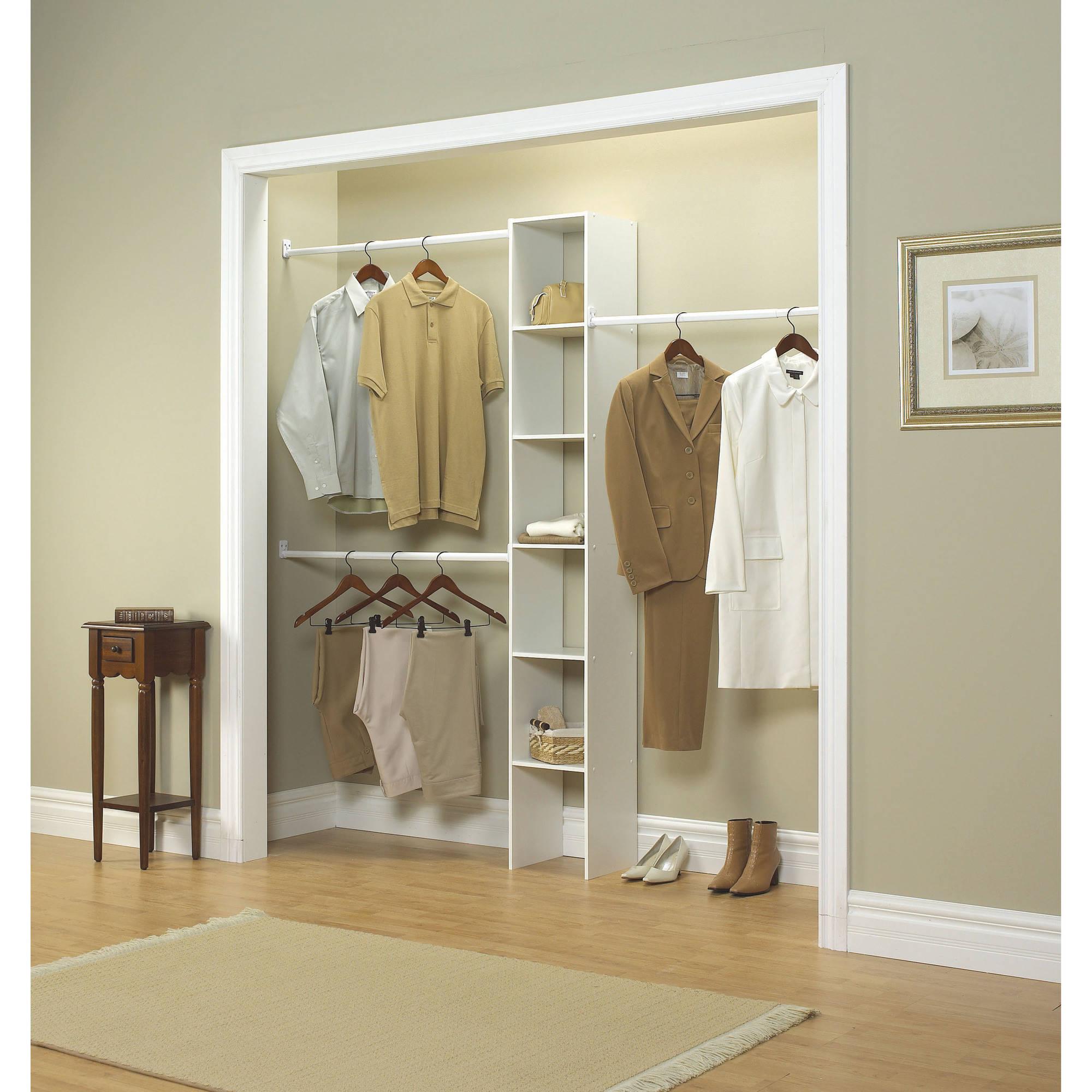 closetmaid vertical closet organizer, 12 WCVMBWI