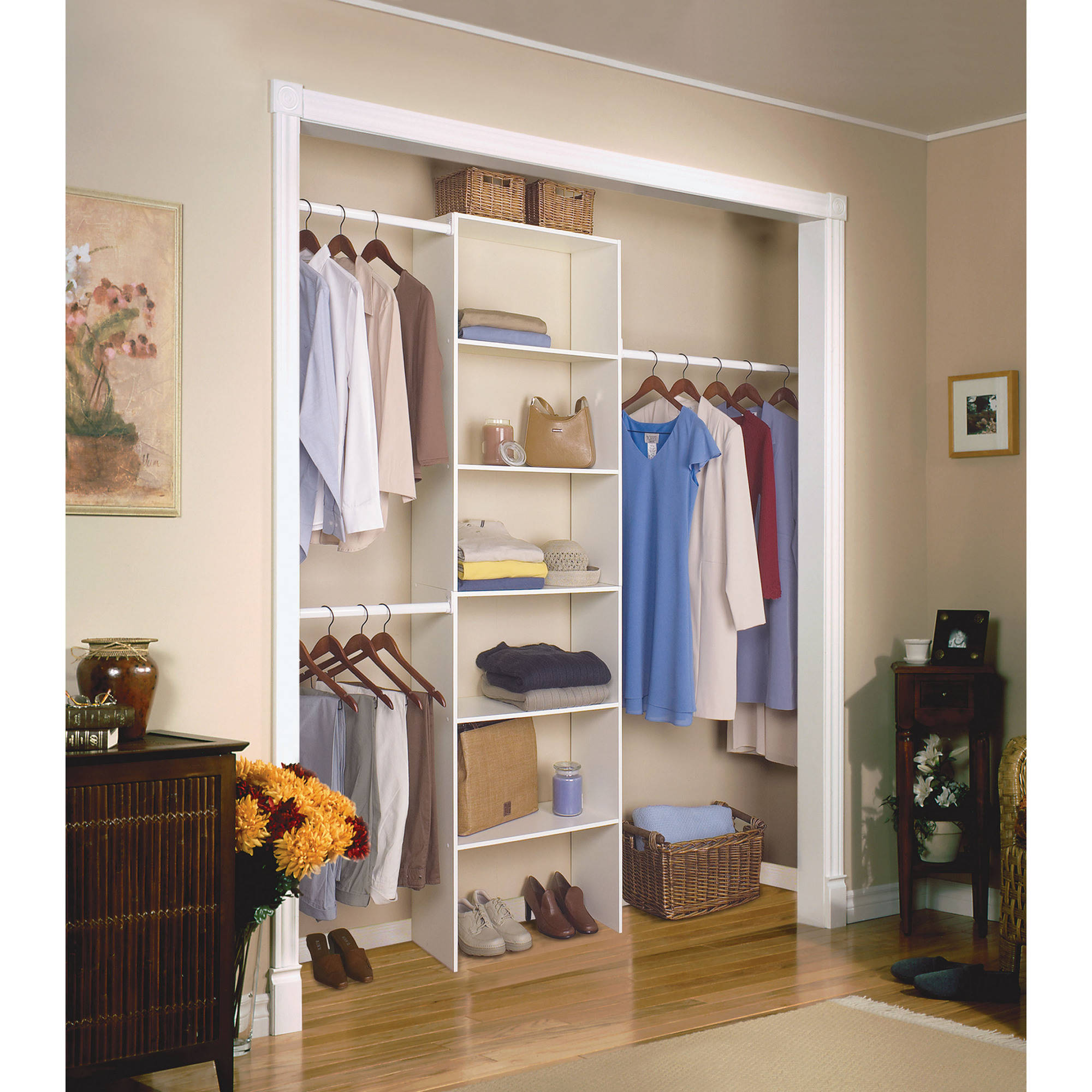 closetmaid vertical closet organizer, 24 CGZZPDL