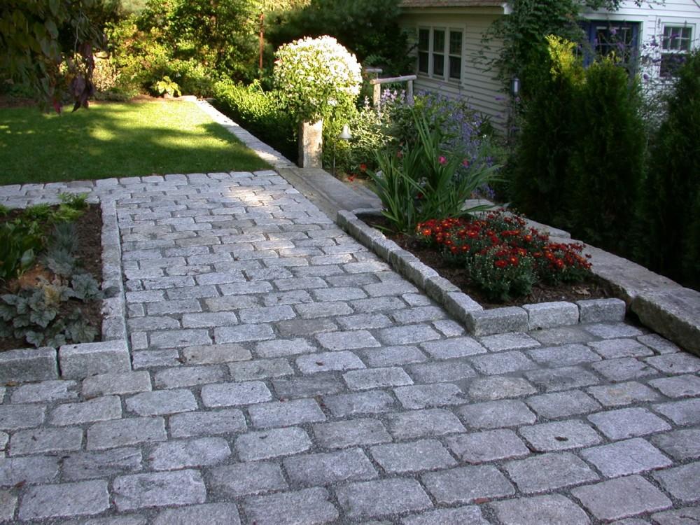 cobble stone patio YSRBYUN