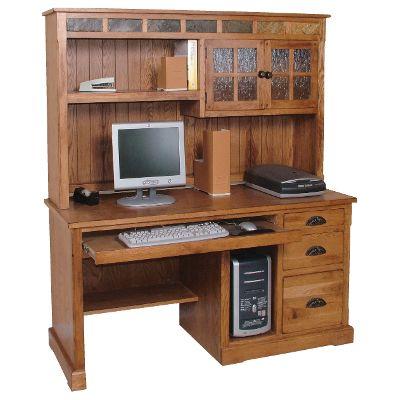 computer furniture computer desk with hutch YZGFJFK