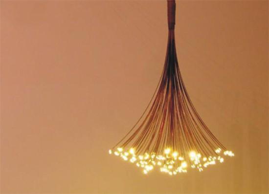 constellation chandelier is unique lighting option ECUVZFZ