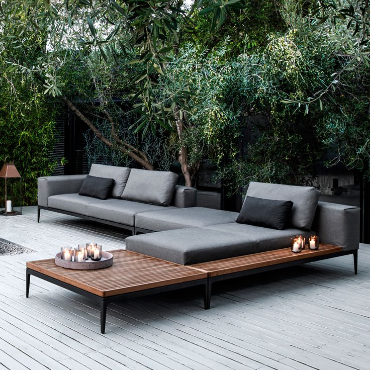 Contemporary Garden Furniture: Beautiful And Rich