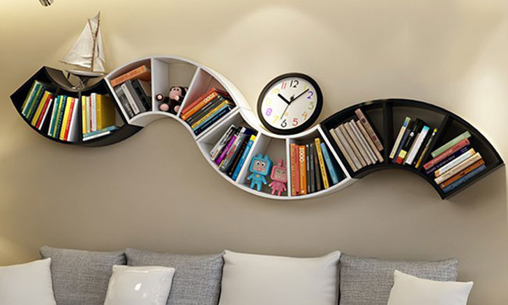 cool bookshelves LOWDBIG