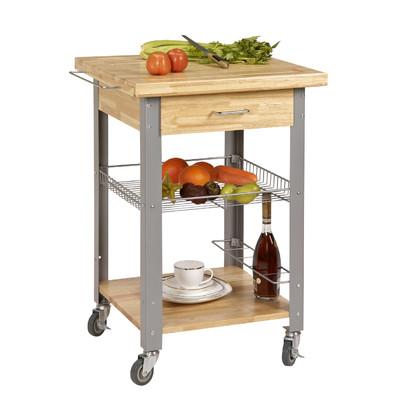 corner housewares rolling storage and organization kitchen cart u0026 reviews |  wayfair JQPNJOC