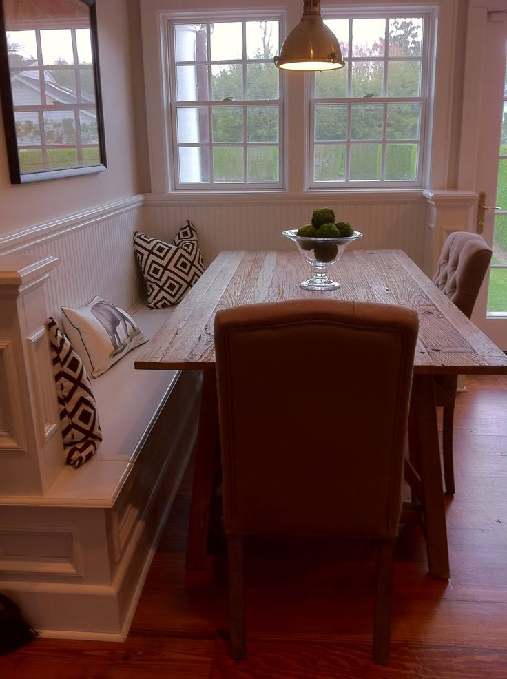 corner kitchen table love the bench at the dining table idea. corner bench kitchen ... OGNDYVY
