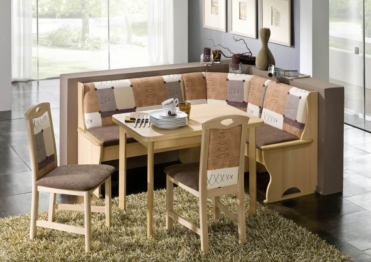 corner kitchen table neutral color pattern with this dining nook offers a way to enhance the FRUWBUI