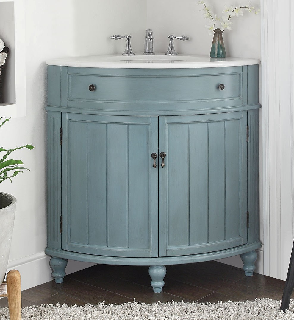 Buying a Corner Vanity for Your Bathroom