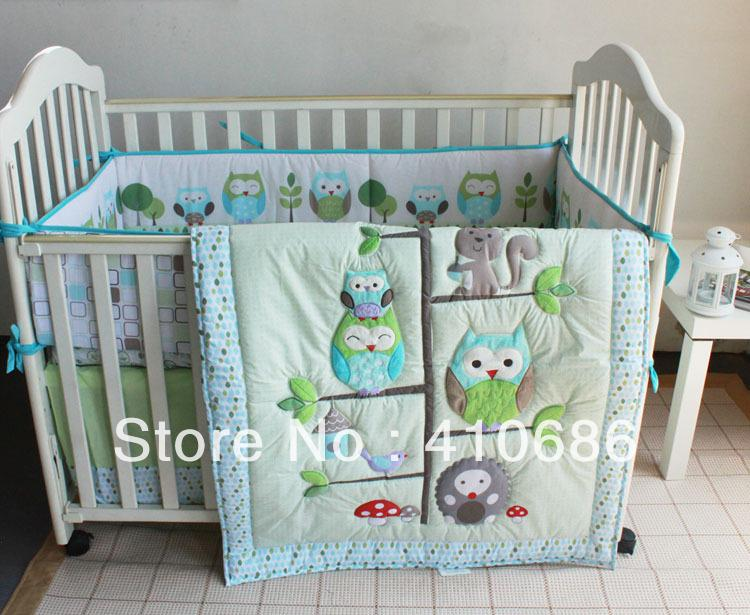 cot bedding sets fire balloon pink animals rabbit owl baby girls crib bedding . UKETPHN