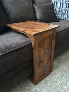 couch table diy sofa table for $25 using stair rails as legs. makes it easy JRGHPVX
