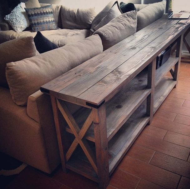 couch table diy sofa table this is an ana white design. it could work out VVBSSDS
