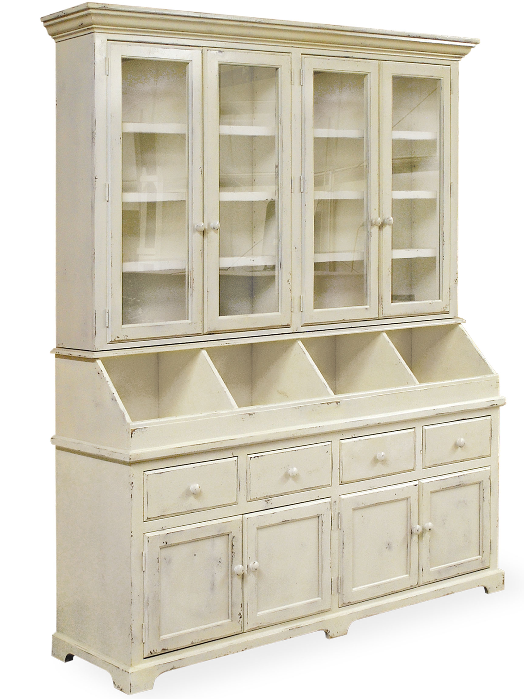 country furniture ... farmhouse chandelier lake house furniture collection, lake  pontchartrain 4 door hutch, YXTXTGP