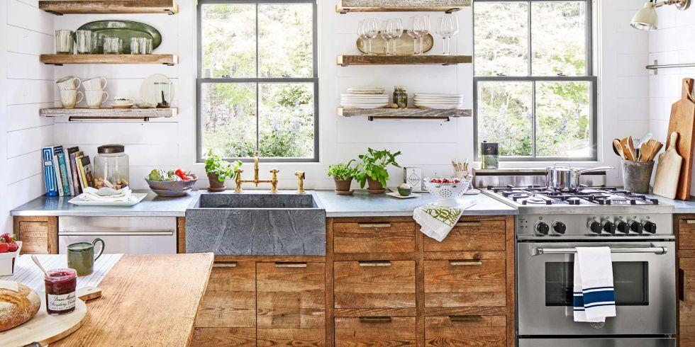 country kitchen decor 100+ kitchen design ideas - pictures of country kitchen decorating  inspiration KDUQHPM