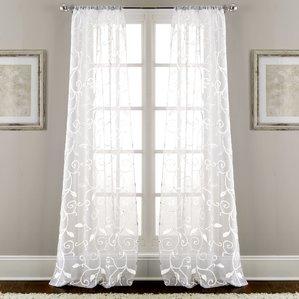 curtain panels curtains u0026 drapes youu0027ll love | wayfair UMOCDJX