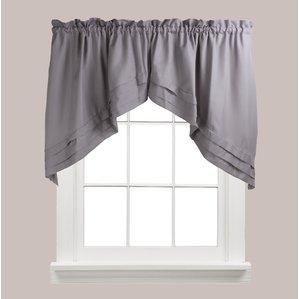 curtain valances gladys swag curtain valance (set of 2) YTNGJAO