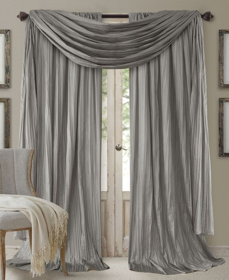curtains with valance elrene athena rod pocket 52 ERYUGOX