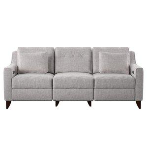 custom sofa logan reclining sofa LFKFJWS
