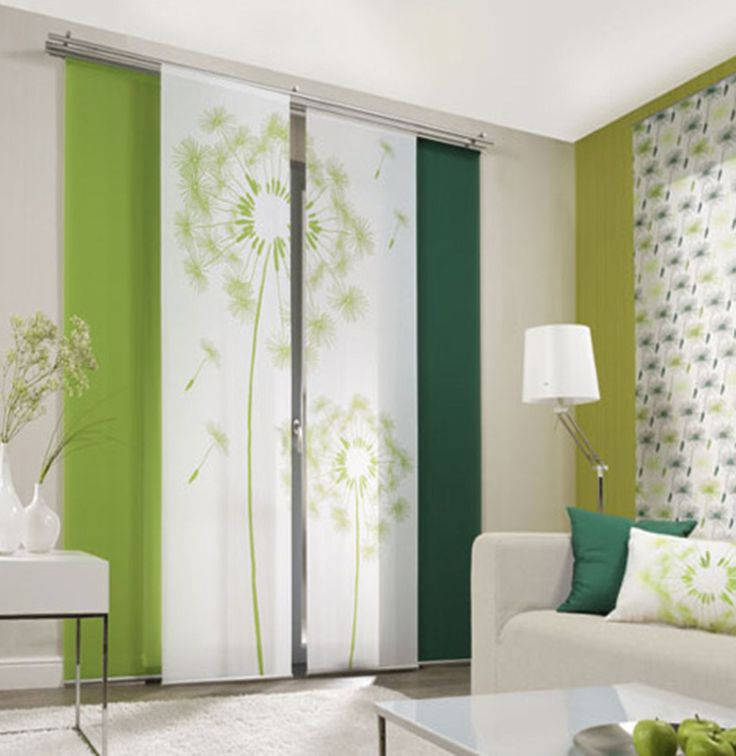 dandelion allover 1 sliding curtain panels room dividers - panel | ebay QRKLMQR